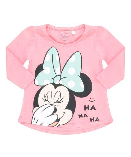 Blusa Minnie Rosa