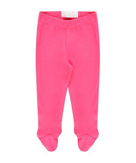 Calça em Algodão + Sustentável Pink