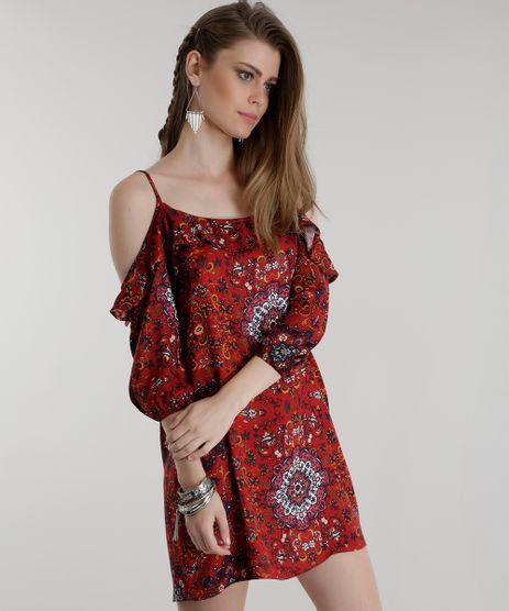 Vestido-Open-Shoulder-Estampada-Vermelha-8567688-Vermelho_1