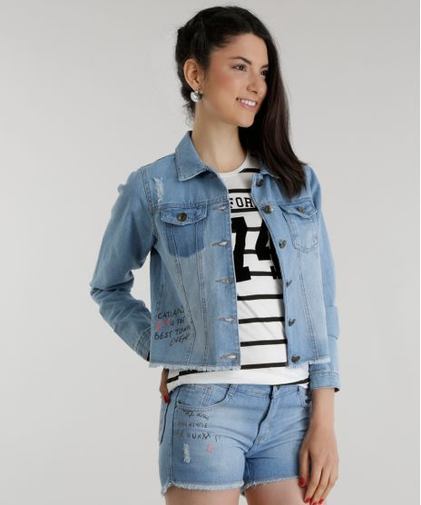Jaqueta-Jeans--Catland-is-the-best-town-ever--Azul-Claro-8561580-Azul_Claro_1