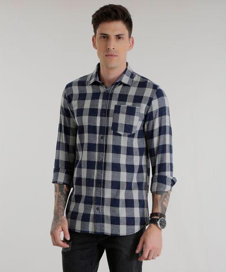 Camisa-Xadrez-Azul-Marinho-8500979-Azul_Marinho_1