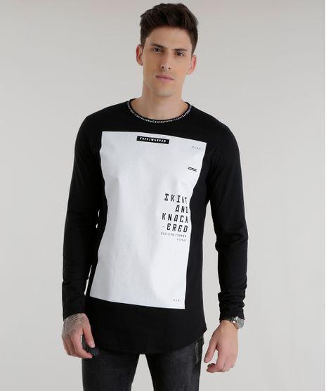 Camiseta-Longa--Skint-and-Knack-ered--Preta-8537835-Preto_1