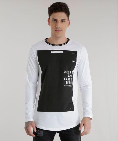 Camiseta-Longa--Skint-and-Knack-ered--Branca-8537842-Branco_1