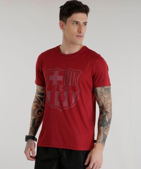 Camiseta Barcelona Vinho