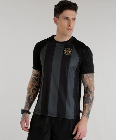 Camiseta Barcelona Preta