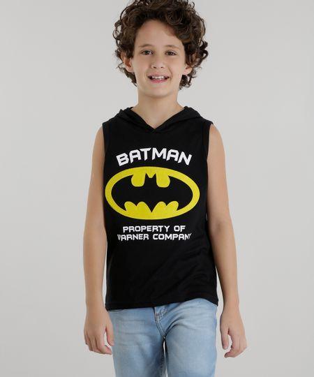 Regata Batman Preta