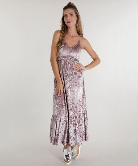 Vestido-Longo-em-Veludo-Rosa-8559544-Rosa_1