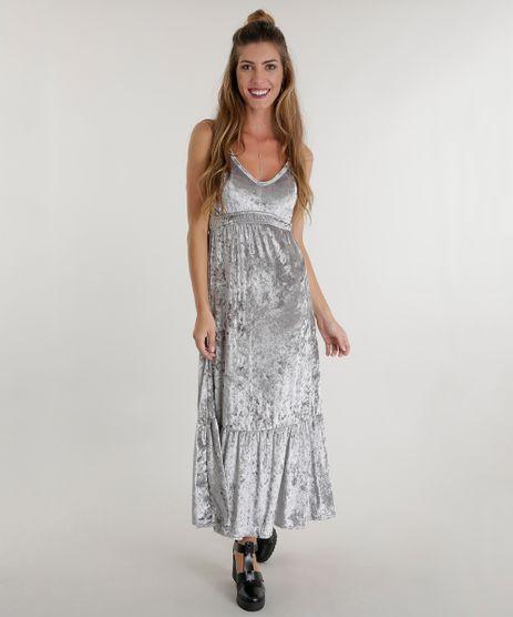 Vestido-Longo-em-Veludo-Cinza-8559544-Cinza_1