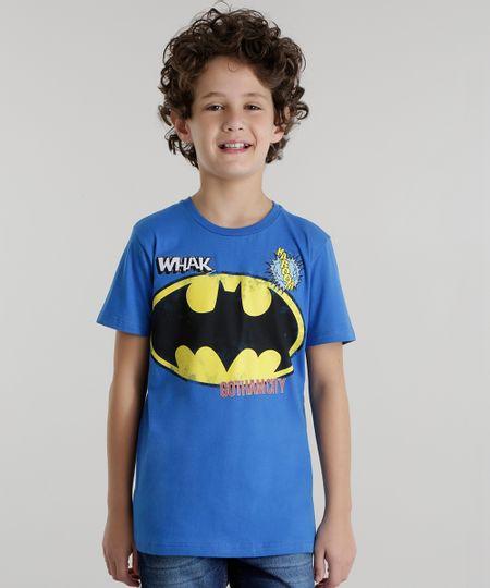 Camiseta Batman Azul