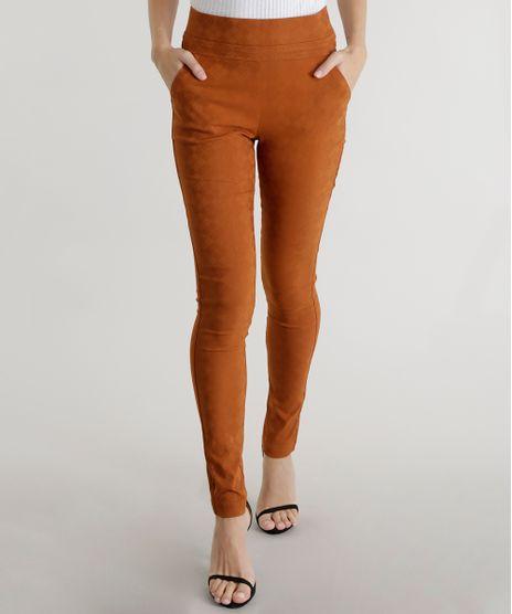 Calca-Legging-em-Jacquard-Estampada-Caramelo-8234187-Caramelo_1