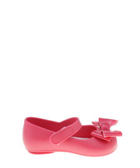 Sapatilha Pimpolho com Laço Pink