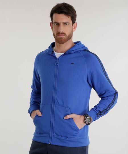 Blusão Ace em Moletom Azul