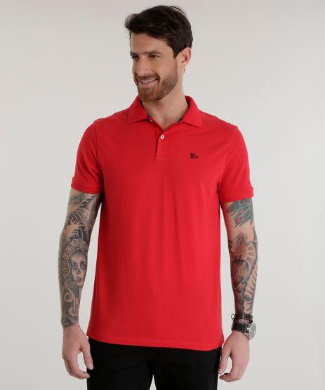 Polo-em-Piquet-Vermelha-8553376-Vermelho_1