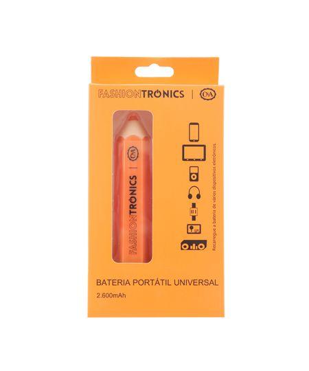 Carregador Bateria Portátil Universal Laranja