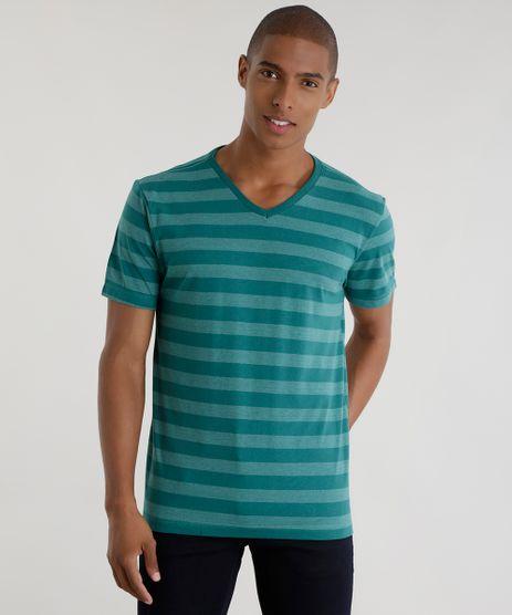 Camiseta-Listrada-Verde-8595483-Verde_1