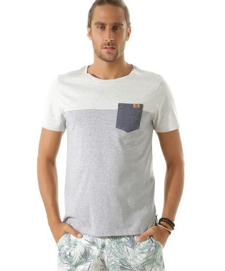 Camiseta-com-Bolso-Cinza-Mescla-Claro-8451632-Cinza_Mescla_Claro_1