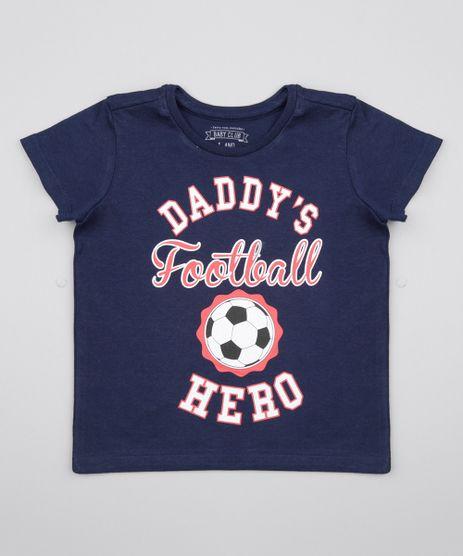 Camiseta--Daddy-s-Football-Hero--Azul-Marinho-8574178-Azul_Marinho_1
