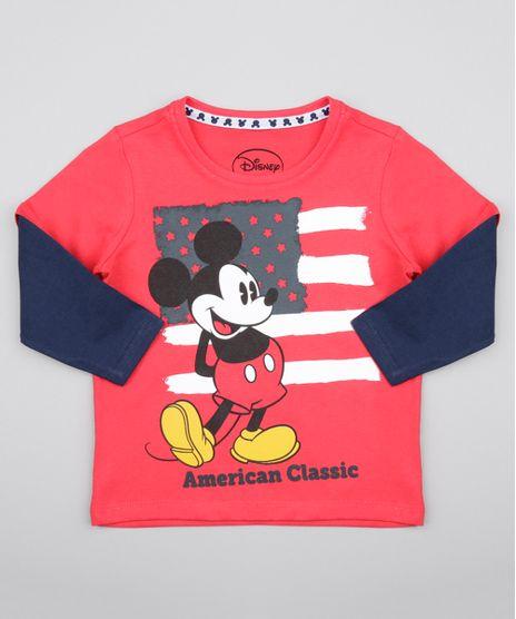 Camiseta-Mickey-Vermelha-8578368-Vermelho_1