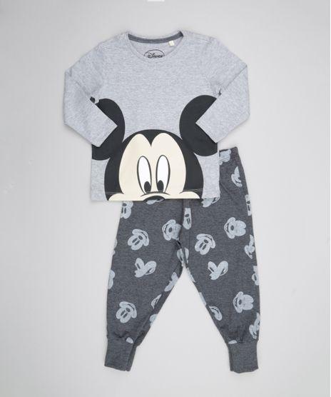 Pijama-Mickey-Cinza-Mescla-8549242-Cinza_Mescla_1
