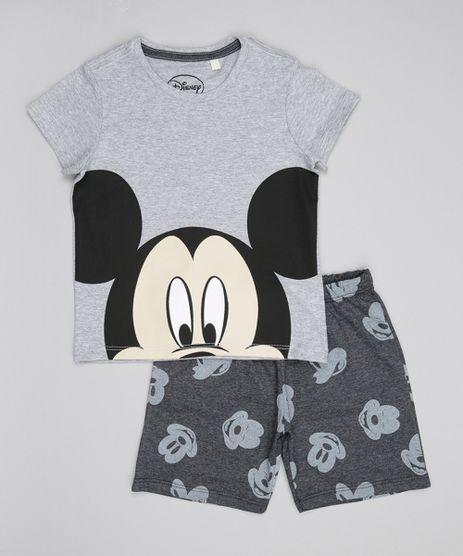 Pijama-Mickey-Cinza-Mescla-8550022-Cinza_Mescla_1