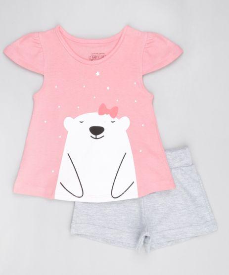 Conjunto-de-Blusa--Ursa-Polar--Rosa-Short-Cinza-8522675-Cinza_1