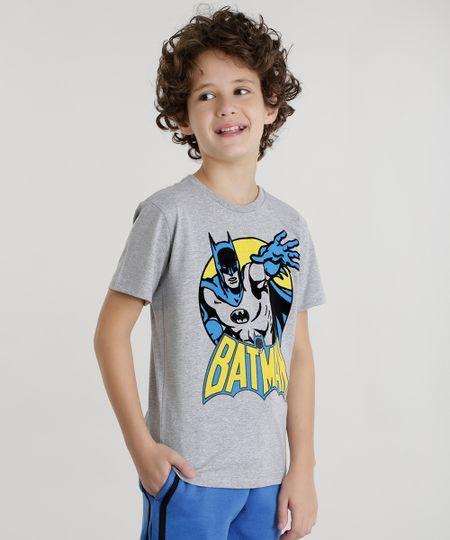 Camiseta Batman Cinza Mescla
