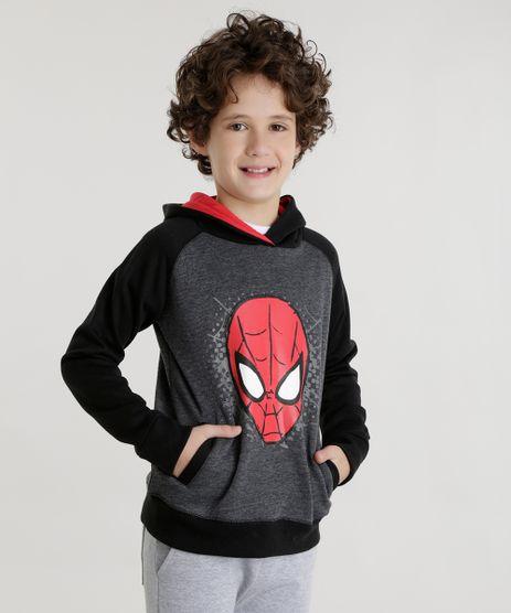 Blusao-Homem-Aranha-em-Moletom-Cinza-Mescla-Escuro-8474558-Cinza_Mescla_Escuro_1