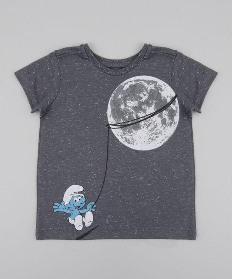 Camiseta-Os-Smurfs-Cinza-Mescla-8577856-Cinza_Mescla_1