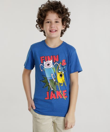 Camiseta-Hora-de-Aventura-Azul-8577213-Azul_1