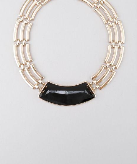 Colar-Geometrico-Dourado-8169690-Dourado_1