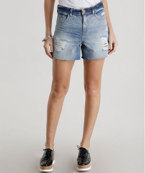 Short-Hot-Pant-Jeans-Azul-Claro-8413016-Azul_Claro_1