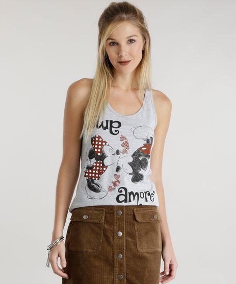 Regata-Mickey---Minnie-Cinza-Mescla-8574105-Cinza_Mescla_1