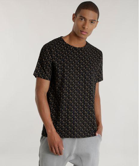 Camiseta-Estampada-de-Flechas-Preta-8581051-Preto_1