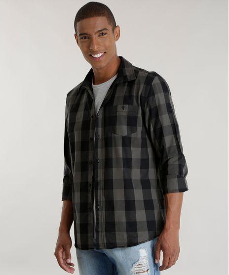 Camisa-Xadrez-Preta-8448795-Preto_1