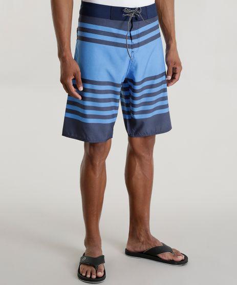Bermuda-Listrada-Rico-de-Souza-Azul-8589919-Azul_1