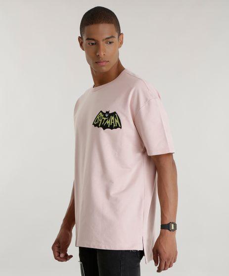 Camiseta-Batman-em-Moletom-Rosa-Claro-8586696-Rosa_Claro_1