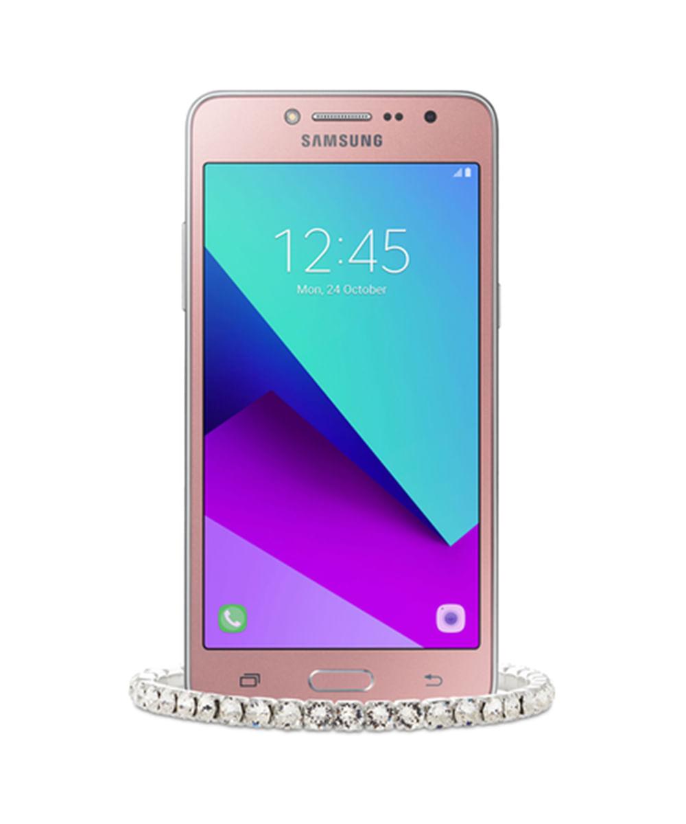 Smartphone Samsung Galaxy J2 Prime TV Rosa + Pulseira Swarovski - Único Rosa