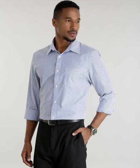 Camisa-Comfort-Listrada-Azul-8456468-Azul_1