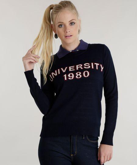 Suéter em Tricô