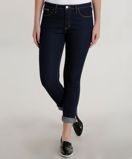 Calca-Jeans-Cigarrete-Azul-Escuro-8518564-Azul_Escuro_1