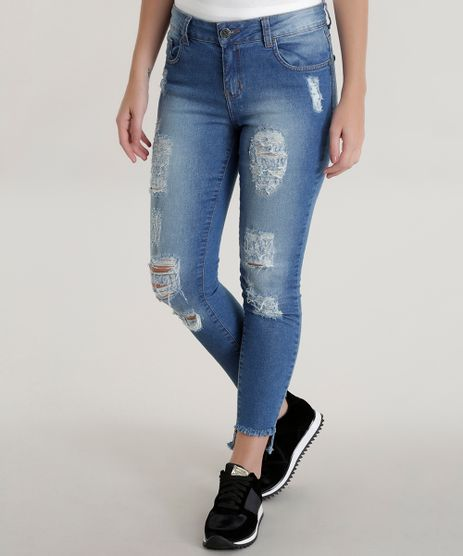 Calca-Jeans-Cigarrete-Azul-Medio-8590843-Azul_Medio_1