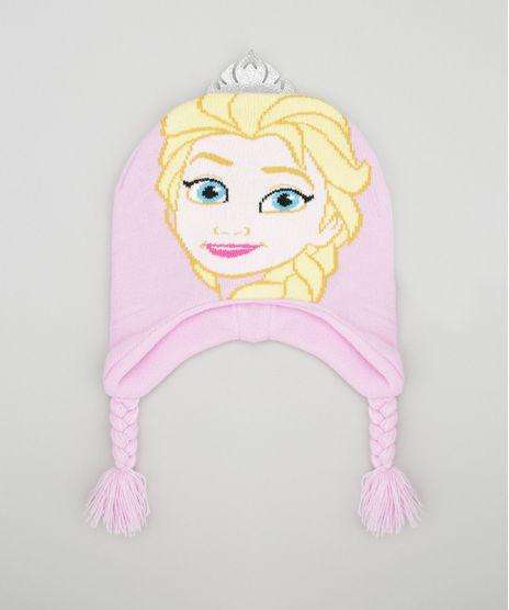 Gorro-Frozen-em-Trico-Rosa-Claro-8490524-Rosa_Claro_1