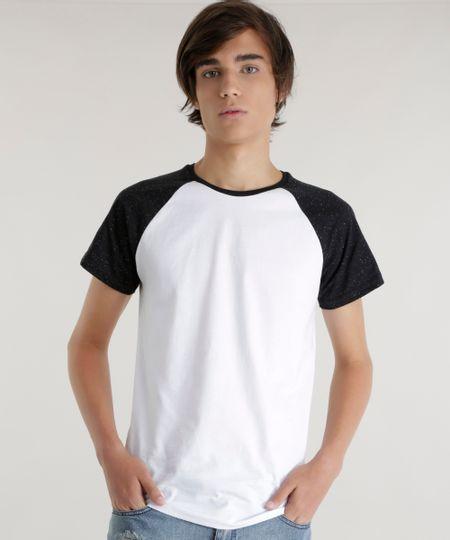 Camiseta Botonê Básica Branca