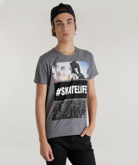 Camiseta-Botone---Skatelife--Cinza-Mescla-8555562-Cinza_Mescla_1