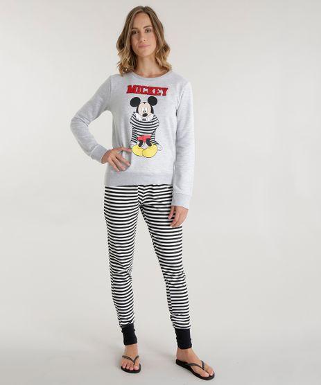 Pijama-Mickey-Cinza-Mescla-8574239-Cinza_Mescla_1