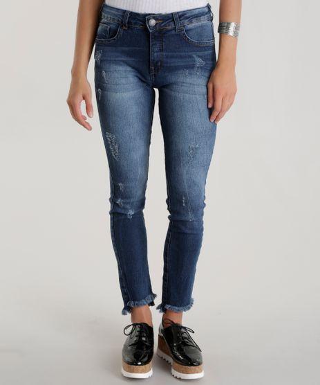 Calca-Jeans-Cigarrete-Azul-Medio-8496493-Azul_Medio_1