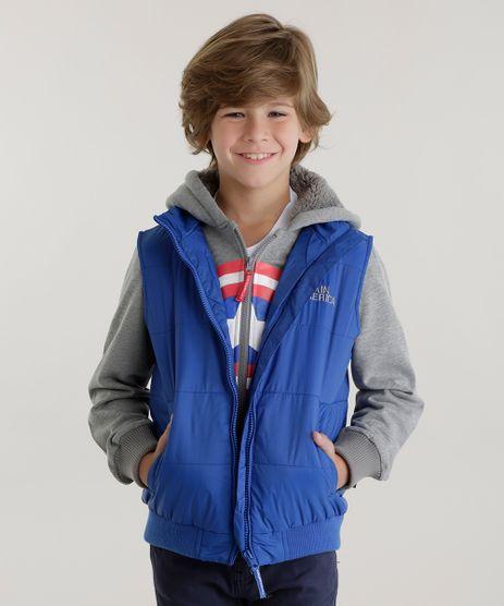 Conjunto-Capitao-America-de-Colete-Azul---Blusao-em-Moletom-Cinza-Mescla-8448598-Cinza_Mescla_1
