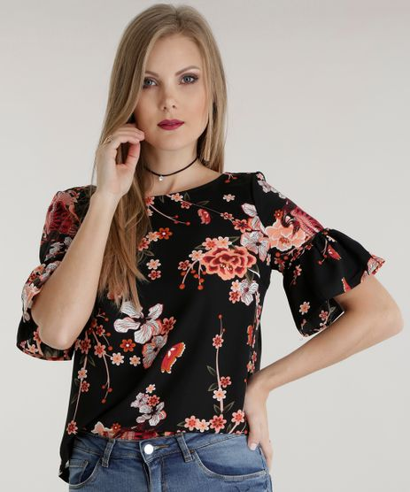 Blusa-Estampada-Floral-Preta-8537040-Preto_1