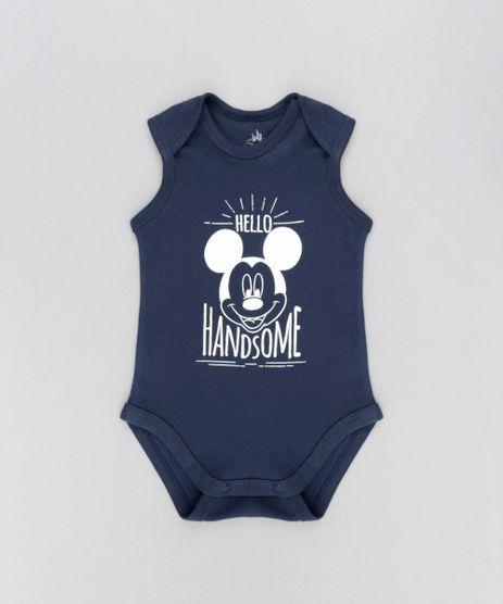Body-Mickey-em-Algodao---Sustentavel-Azul-Marinho-8485591-Azul_Marinho_1