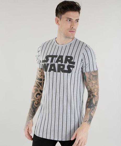 Camiseta-Longa-Listrada-Star-Wars-Cinza-Mescla-8587331-Cinza_Mescla_1